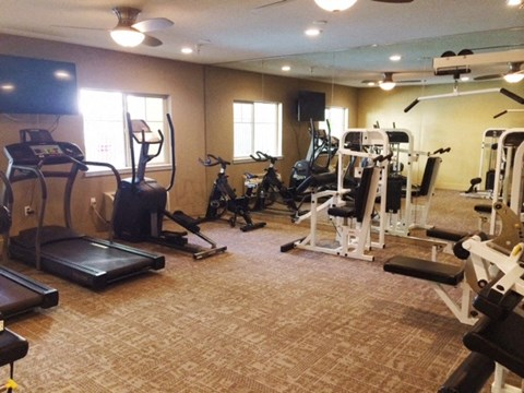 Gym  l Davinci Apartments