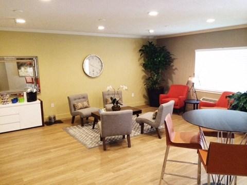 Living area  l Davinci Apartments
