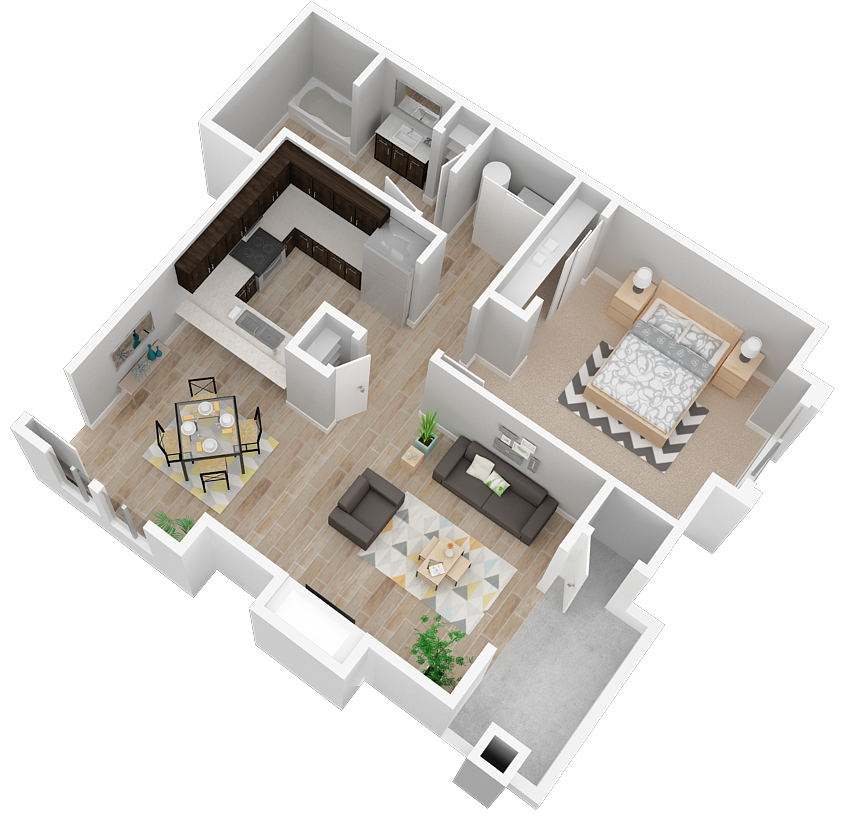 Luxury One And Two Bedroom Apartments In Reno Nv Layouts