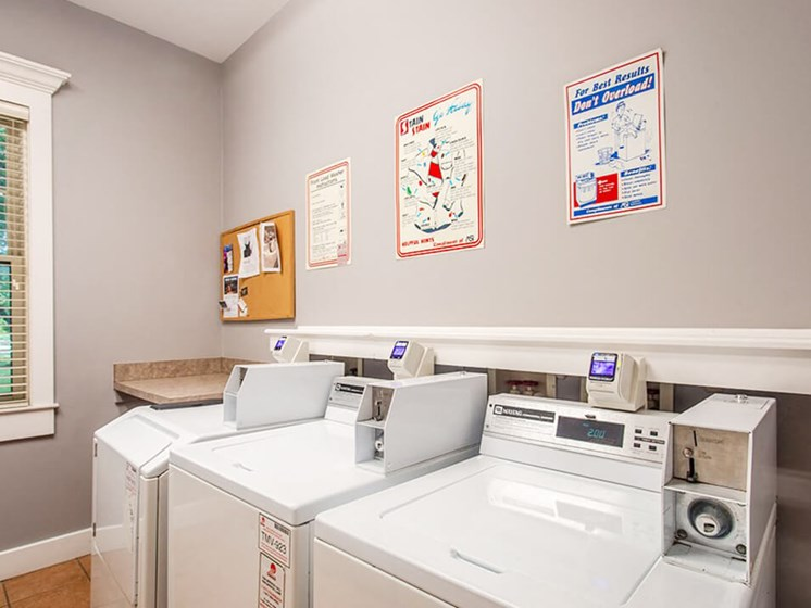 laundry center at Creekside at Taylor Square