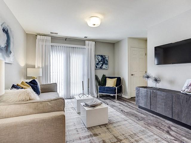 Classic Living Room Design, at The Retreat at Danada Farms, Wheaton, IL