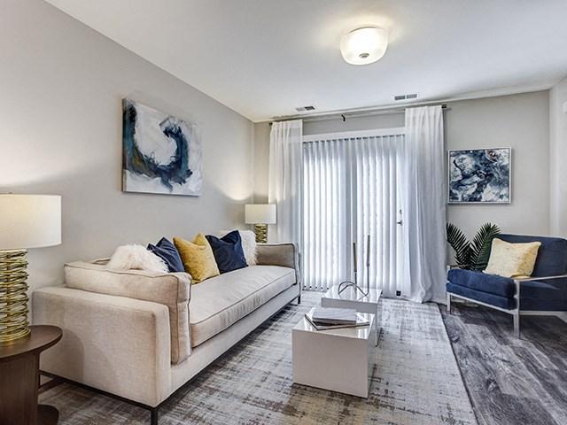 Contemporary Living Room, at The Retreat at Danada Farms, Wheaton, 60189