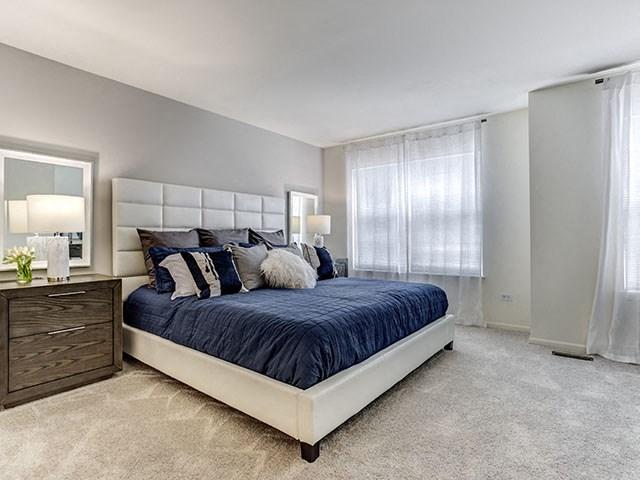 Carpeting in Bedrooms, at The Retreat at Danada Farms, Wheaton, 60189