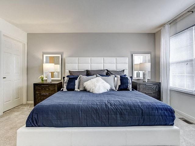 Large Master Bedroom, at The Retreat at Danada Farms, Wheaton Illinois