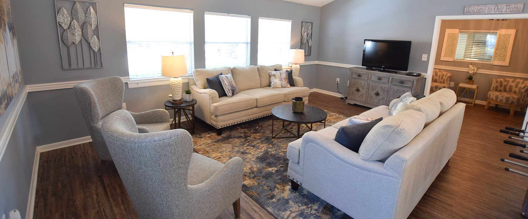 Clubhouse at Lakeland East Apartments in Flowood, MS