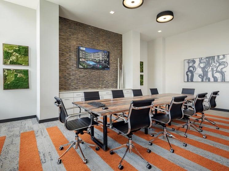 Meeting Room at The Baldwin at St. Paul Square, San Antonio, TX