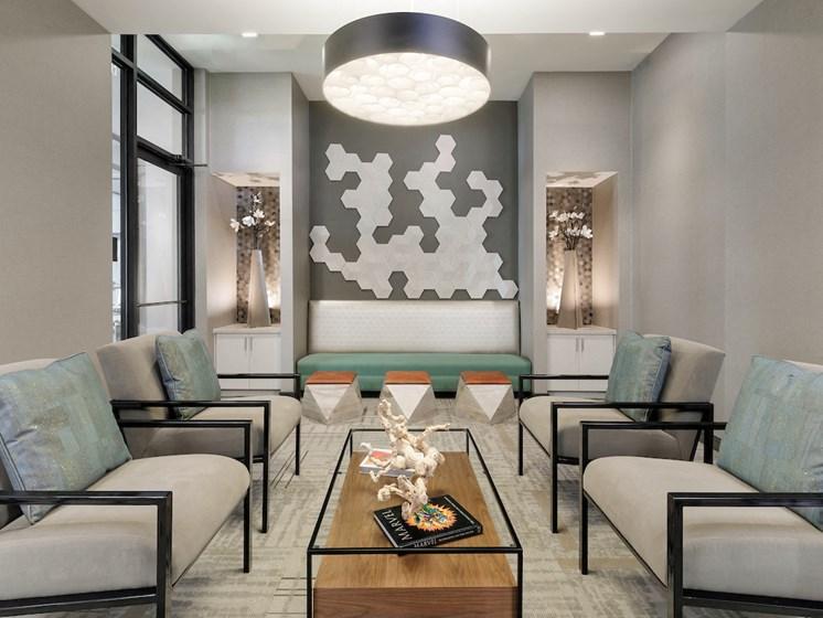 Resident Lounge at The Baldwin at St. Paul Square, San Antonio, 78205
