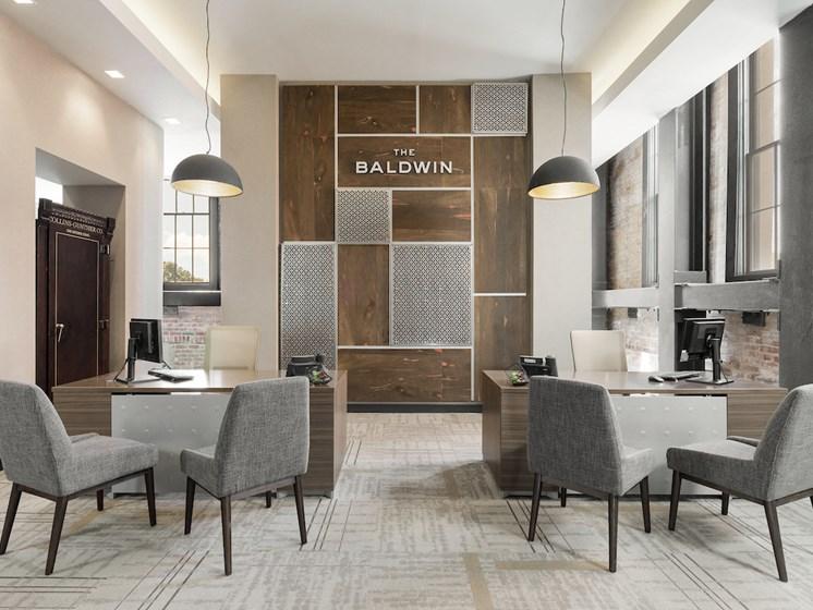 Leasing Office at The Baldwin at St. Paul Square, San Antonio, 78205