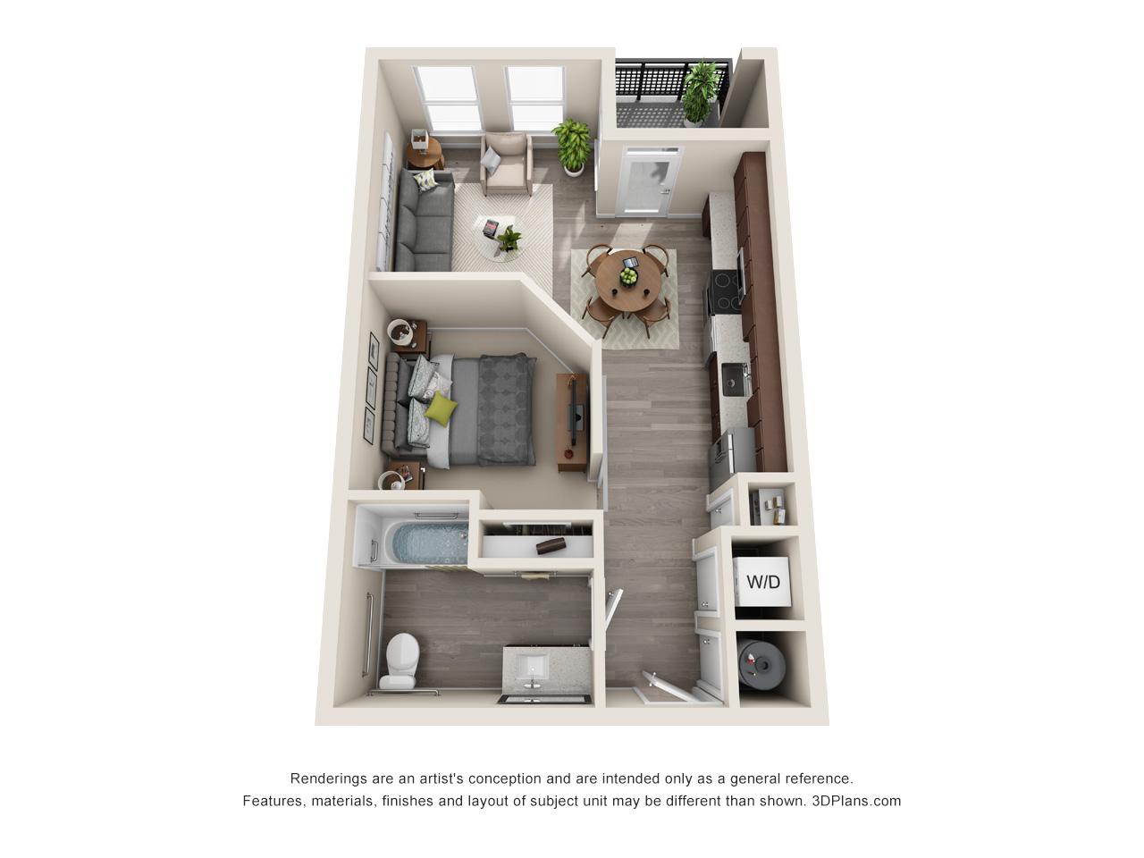 1 2 Bedroom Apartments In San Antonio Tx The Baldwin