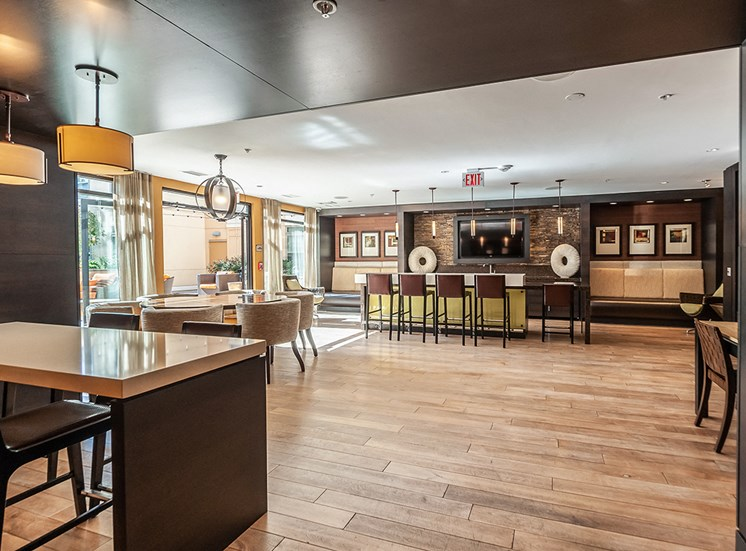 Northgate clubhouse with resident kitchen