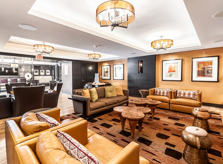 Northgate resident clubhouse in Falls Church, VA