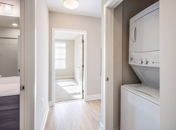 Every Northgate apartment features a washer and dryer