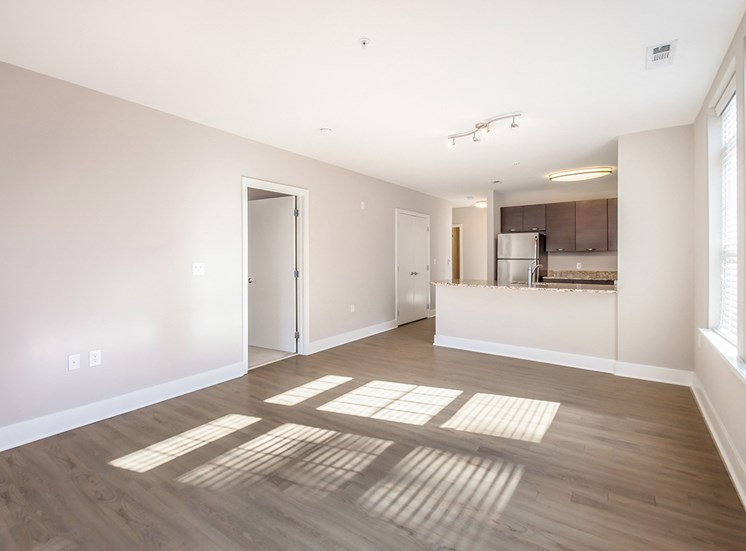 Northgate's apartments are spacious and open