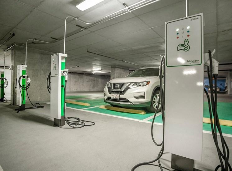 Coast electric car charging station