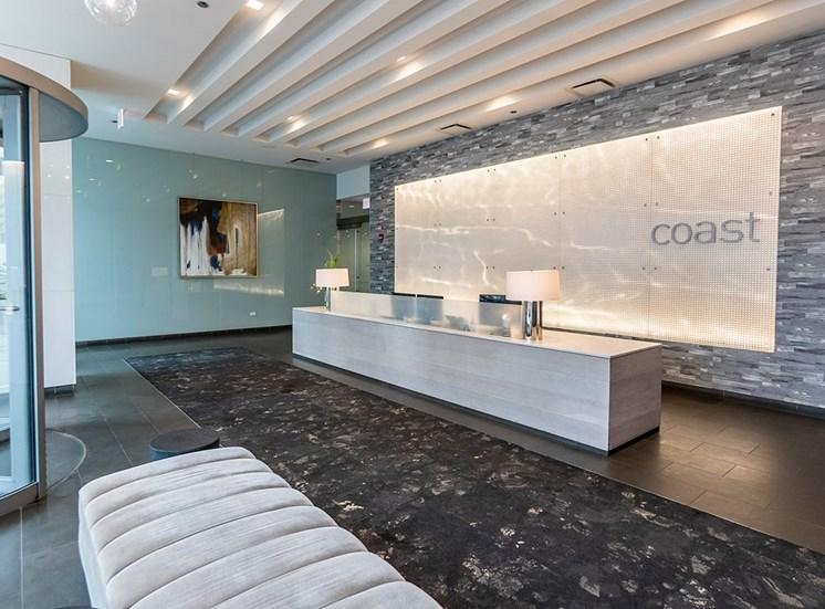 Coast concierge desk