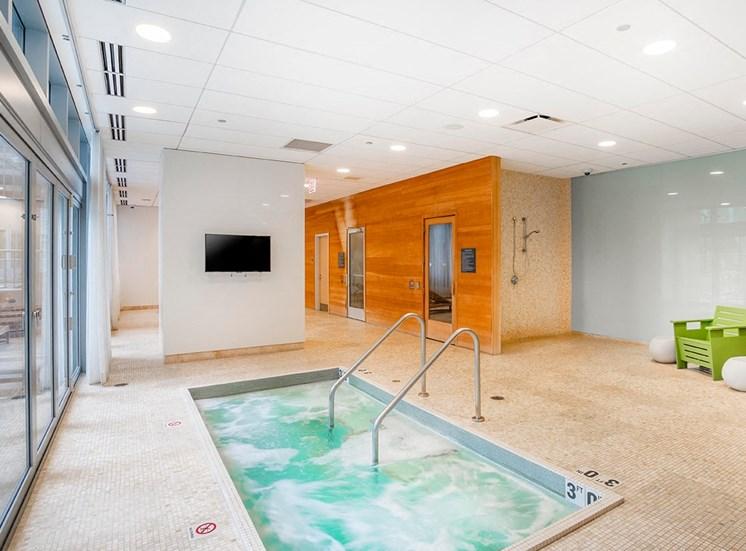 Coast indoor hot tub and sauna