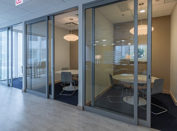 Study and meeting rooms