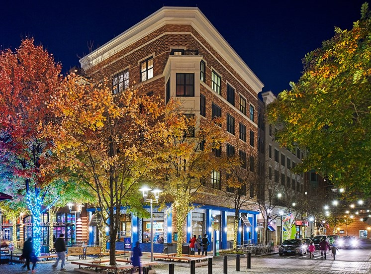 Rockville Town Square apartments in Rockville, Maryland