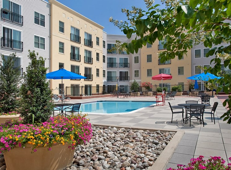Fenestra Apartments swimming pool in Rockville, Maryland