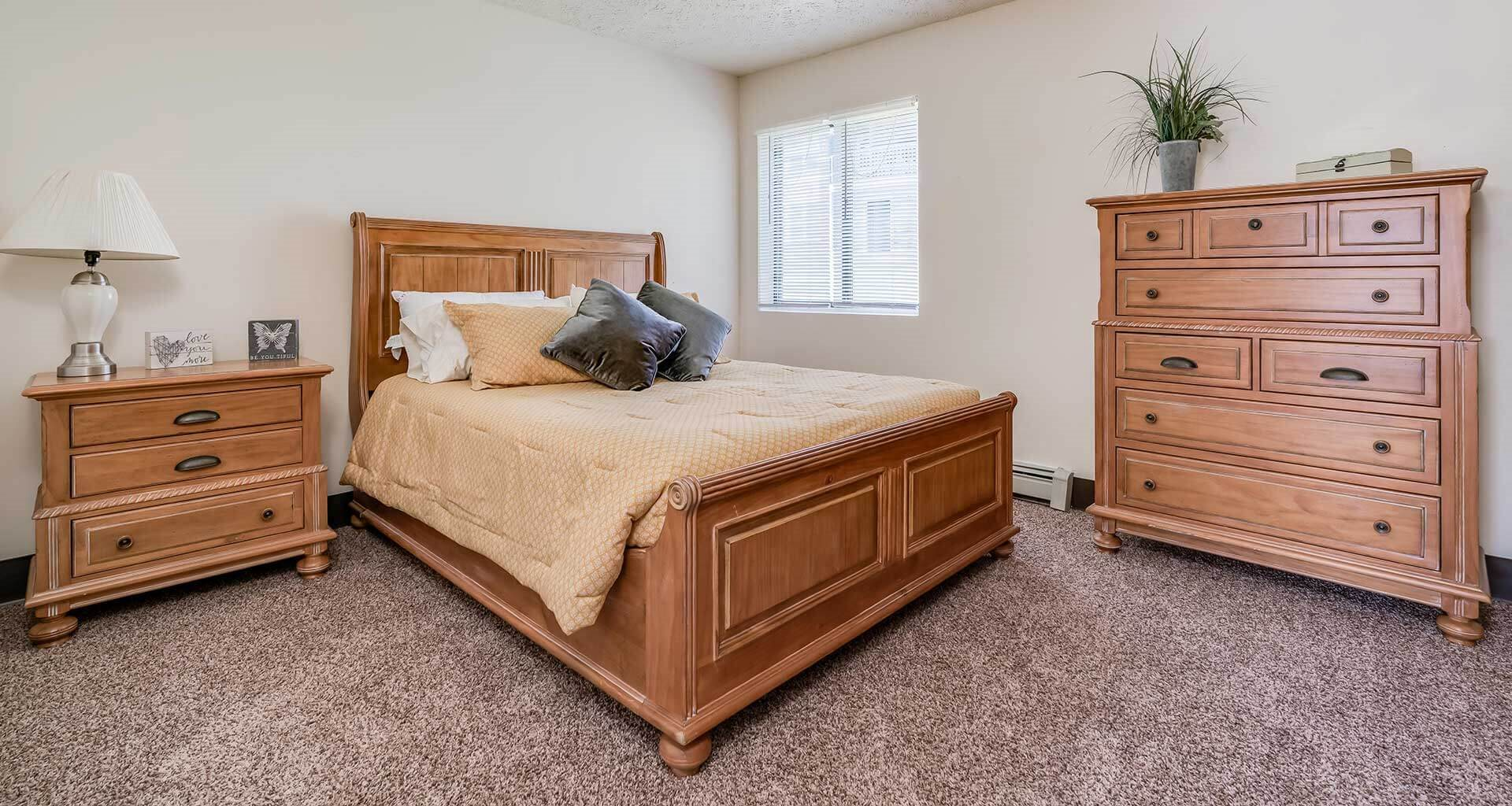 Large Master Bedroom at Parkstead Watertown at City Center, Watertown
