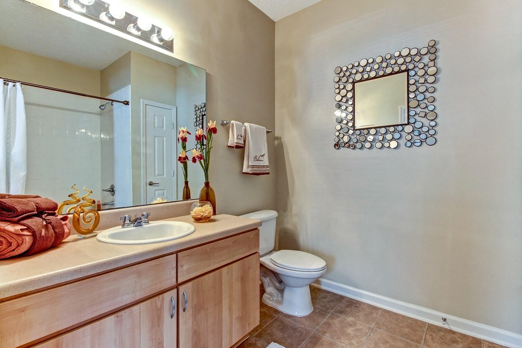 Bathroom at Magnolia Village Apartments in Jacksonville, FL