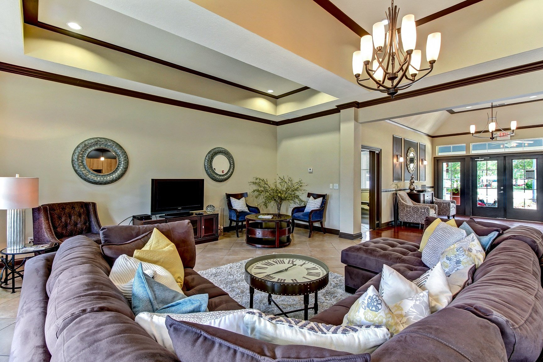 Clubhouse at Magnolia Village Apartments in Jacksonville, FL