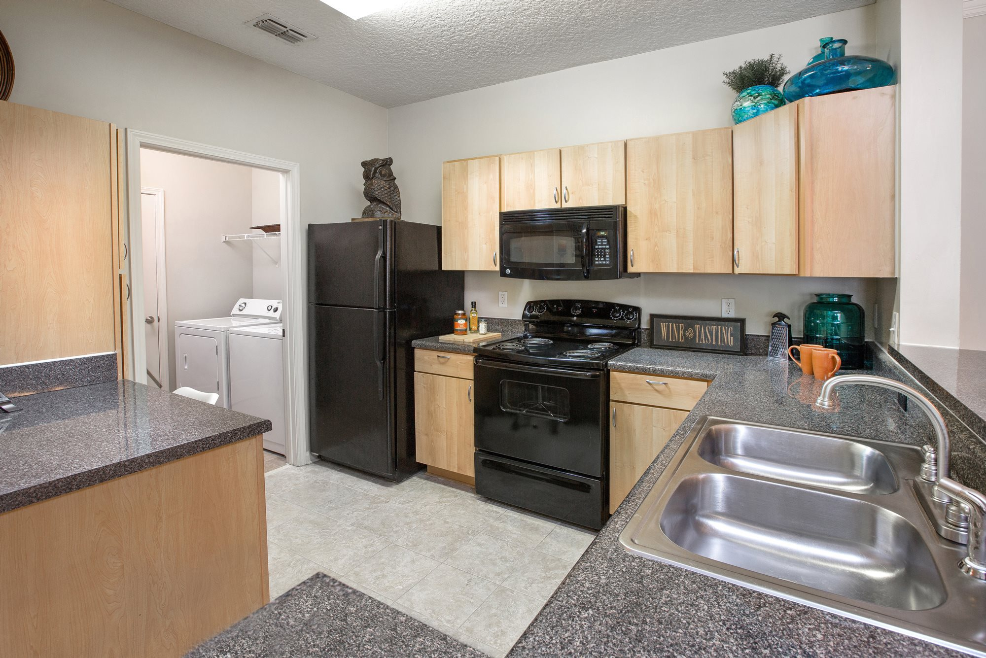 Kitchen at Magnolia Village Apartments in Jacksonville, FL