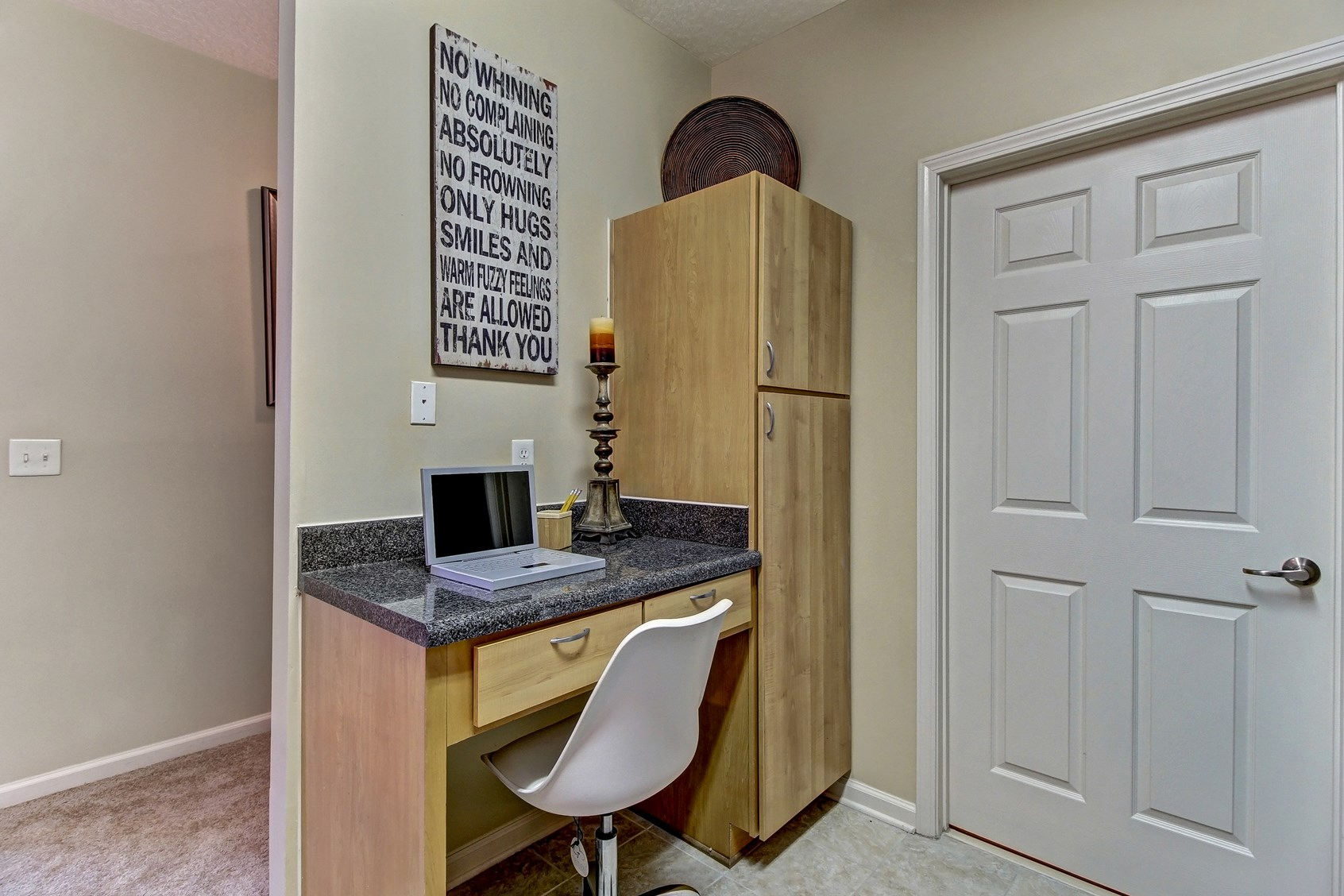 Kitchen Desk at Magnolia Village Apartments in Jacksonville, FL