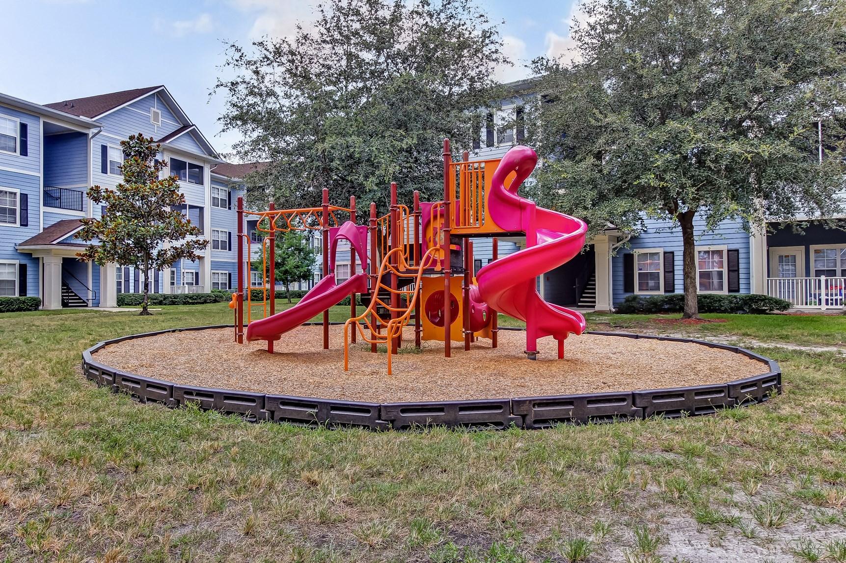 Playground at Magnolia Village Apartments in Jacksonville, FL