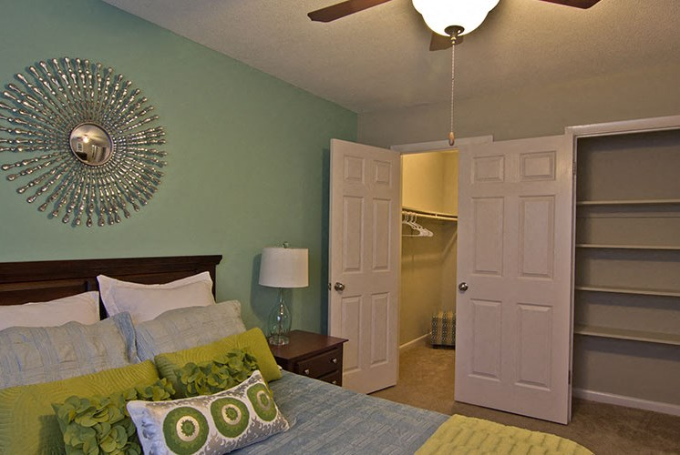 Bedroom at Raleigh NC Apartments