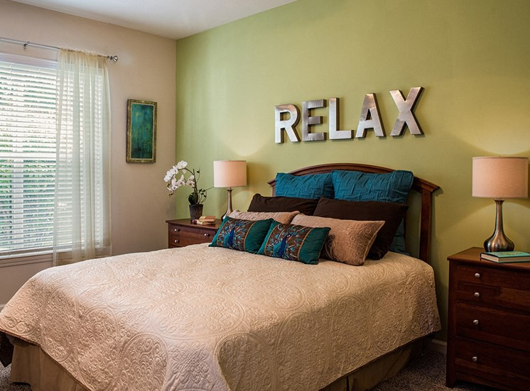 Bedroom at  The Grove at Oakbrook Apartments