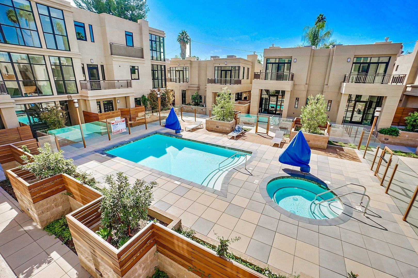 Apartments in Tarzana - The Residences at Village Walk Pool