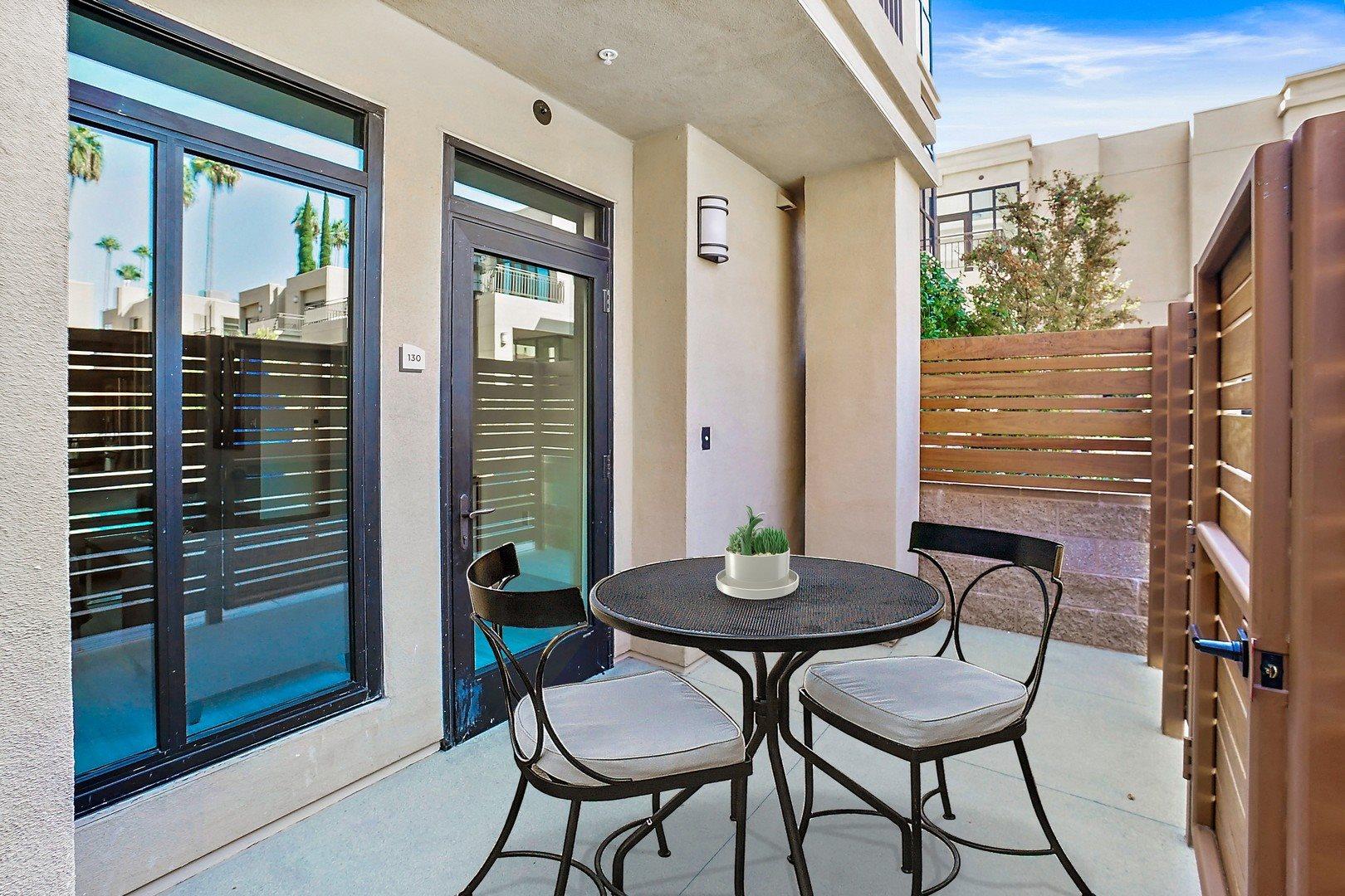 Tarzana CA Apartments - The Residences at Village Walk Patio