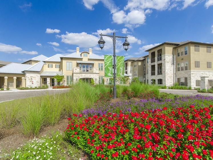 Property Exterior at the Dominion Apartments in San Antonio, TX