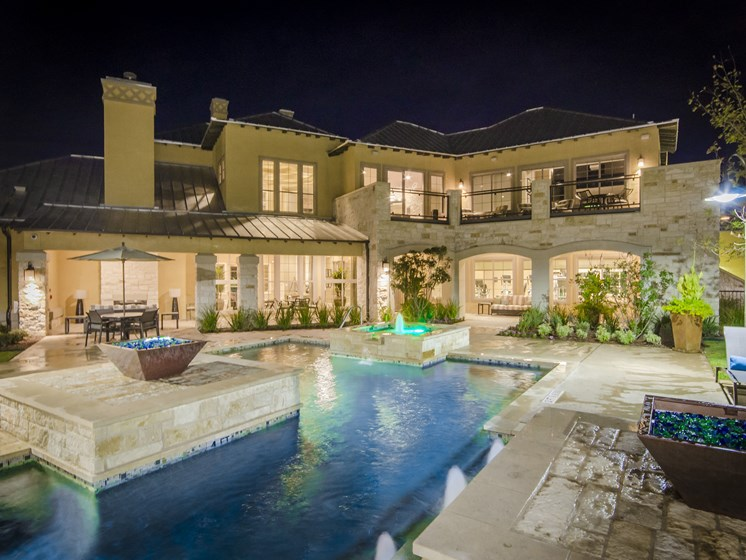 Luxurious Resort Inspired Pool at the Dominion, San Antonio
