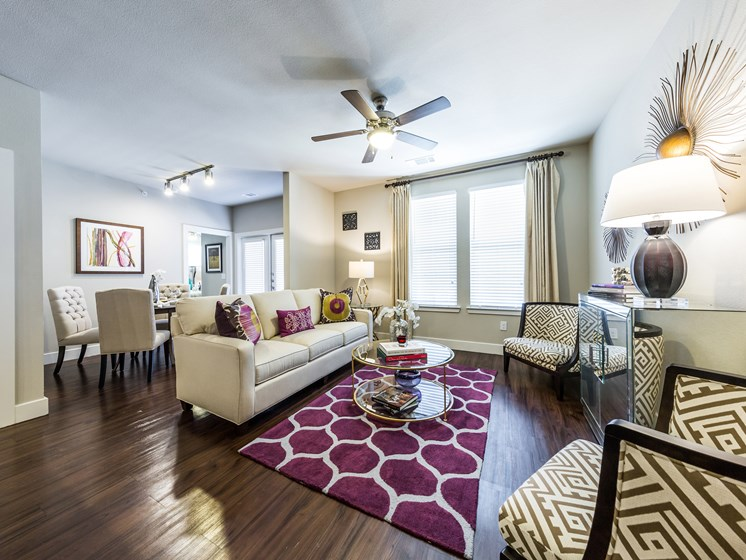large Windows with Beautiful Window Coverings at Grand at the Dominion, San Antonio, 78257