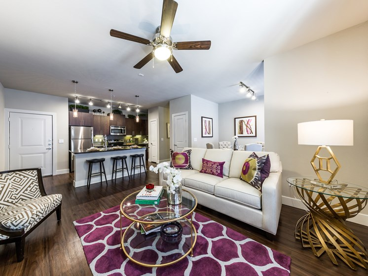 Wood Style Flooring Throughout at Grand at the Dominion, Texas, 78257