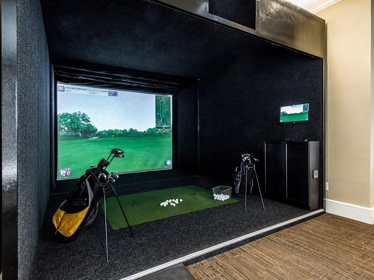 Game Lounge at Grand at the Dominion, San Antonio, Texas