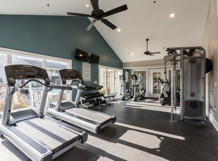 The Crossings at St. Charles Apartments Fitness Center
