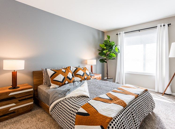 The Crossings at St. Charles Apartments Master Bedroom