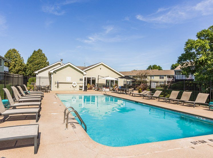 The Crossings at St. Charles Apartments Pool and Sundeck