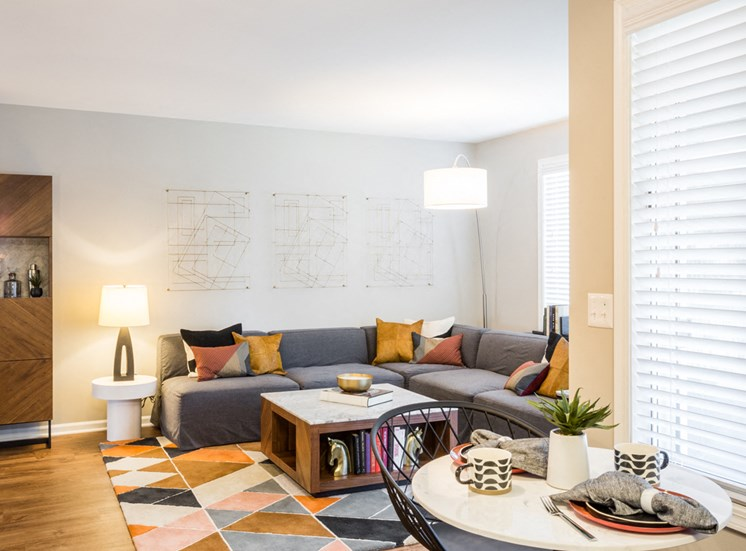 The Crossings at St. Charles Apartments Living Area