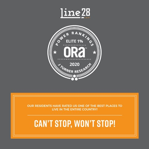Line28 was in the elite one percent ORA in 2020