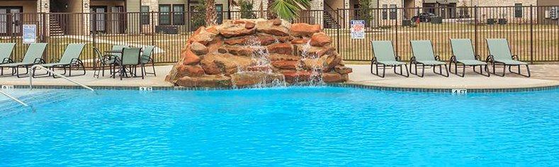 Relaxing Pool at Valor at Harlingen, Harlingen, TX