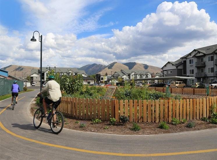 Bike Trail at Corso Apartments, Missoula, MT, 59801