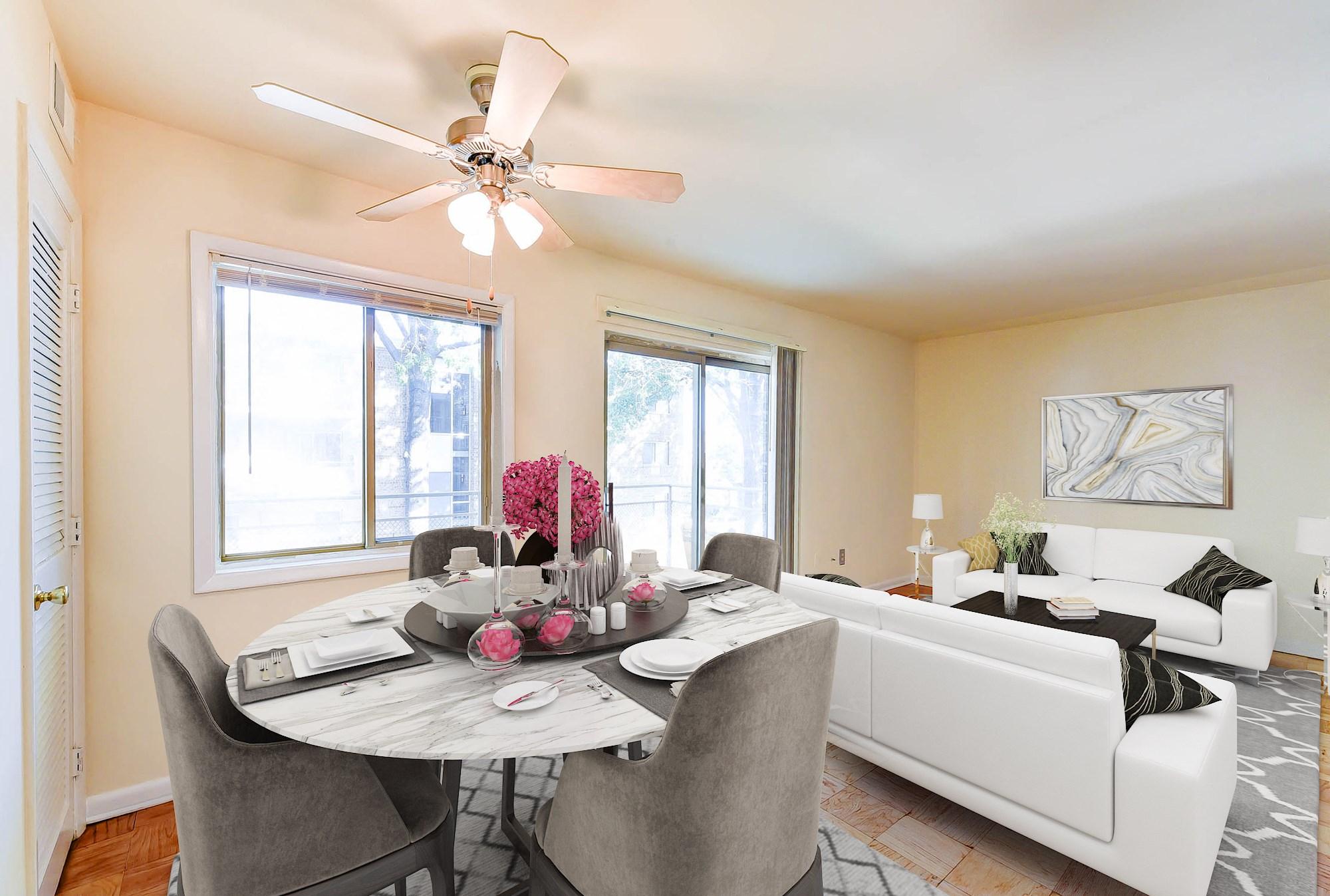 Alexander-Garden-Apartments-Southeast-Washington-DC-Balcony-From-Dining-room