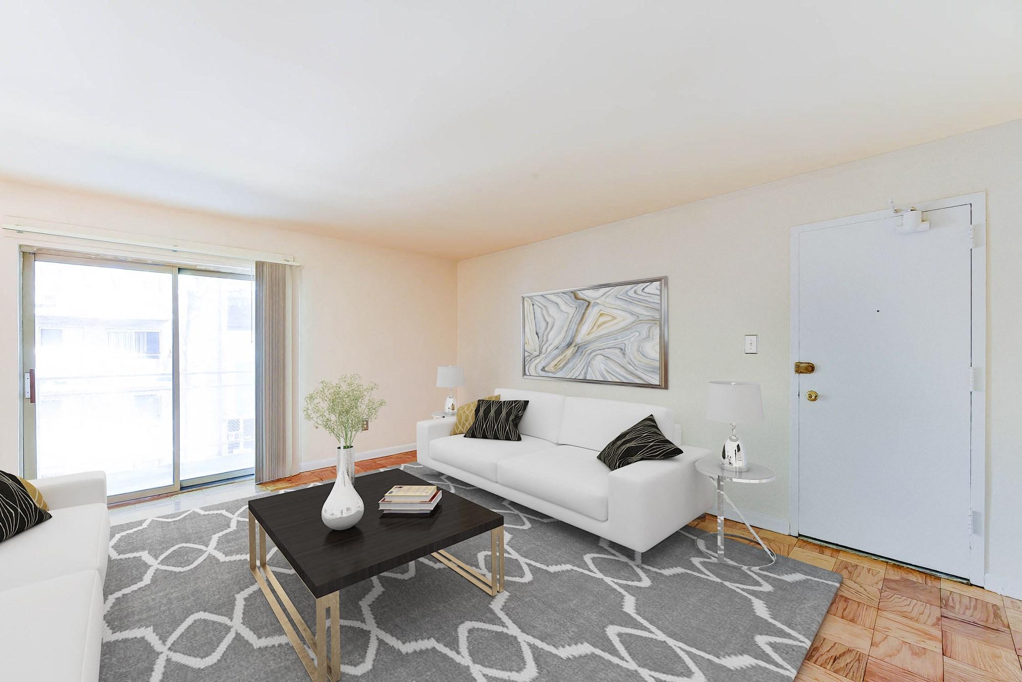 Alexander-Garden-Apartments-Southeast-Washington-DC-Balcony-Livingroom