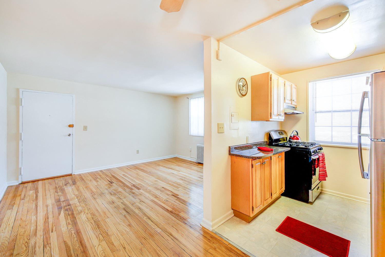 Manor-Village-Apartments-Front-Door-Living-Room-and-Hallway