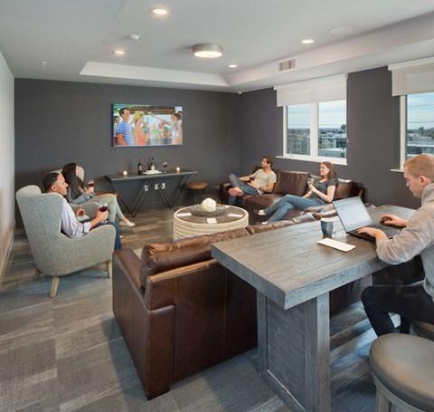 The Roy Lifestyle - Community Room Sky Bridge