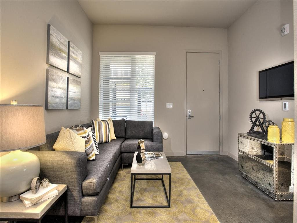 Living room Brand New Apartments for Rent | Mason at Hive Apartments in Oakland, CA Now Leasing